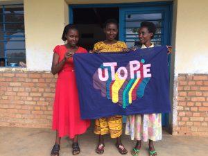 Rwanda drapeau utopie