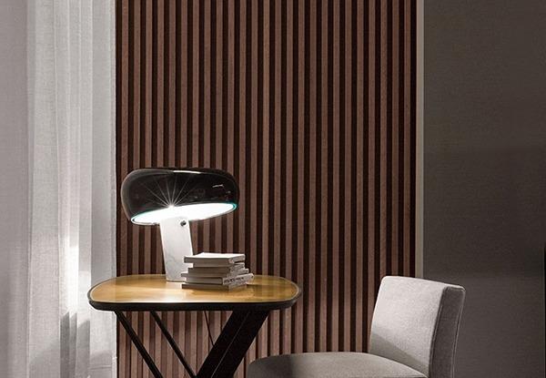 Lampe Snoopy, de Flos, design Achille et Pier Giacomo Castiglioni