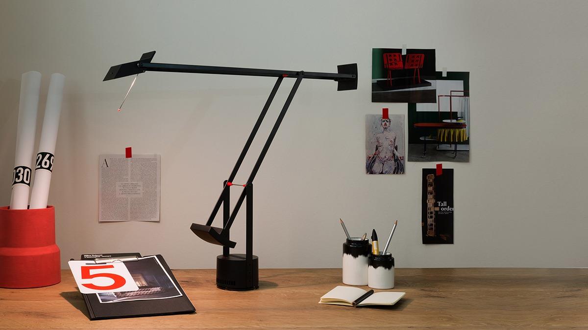 Lampe Tizio, édition Artemide, designé par Richard Sapper