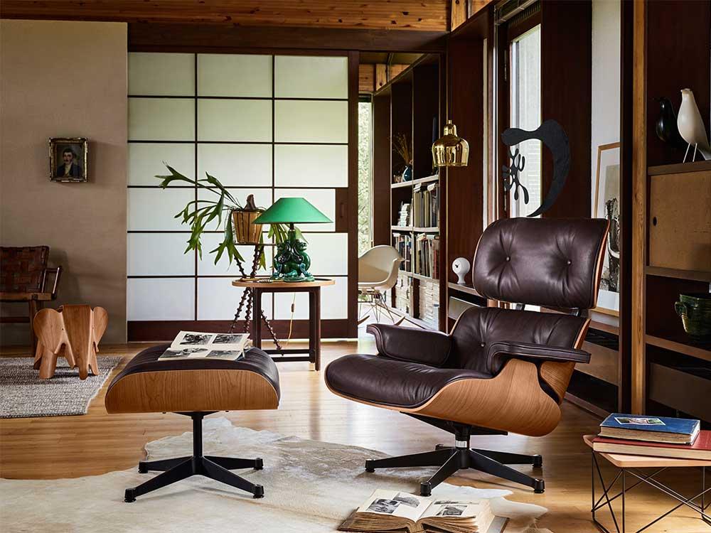 Histoire du Eames Lounge Chair
