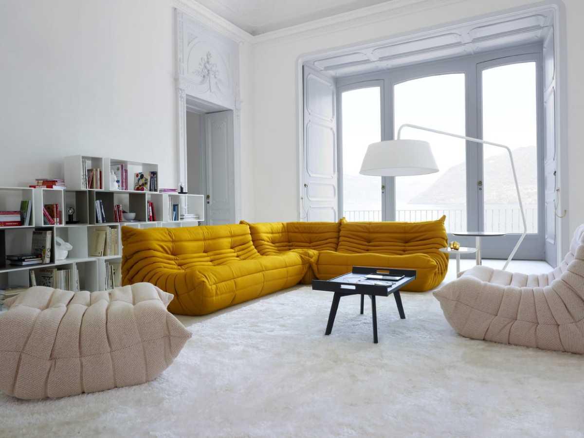 Le canapé Togo : un design à la française